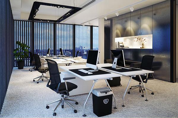 Projekt modernes Büro