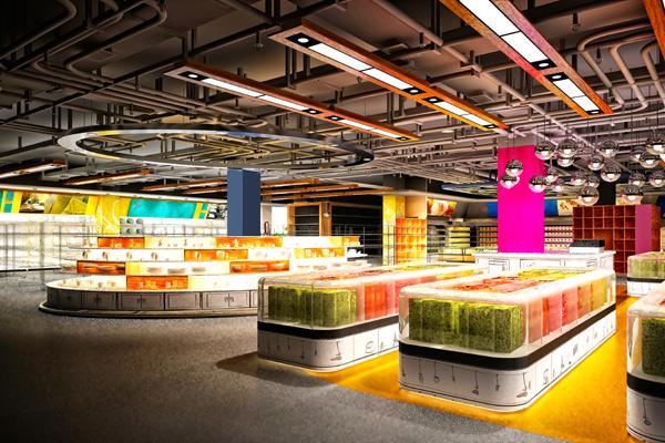 Ladenbau Großmarkt